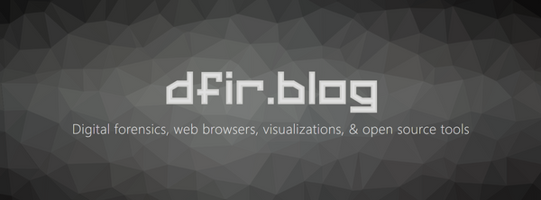 New Year, New dfir.blog