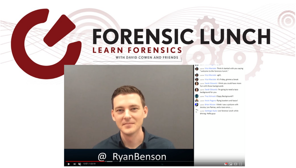 Talking about Unfurl on the Forensic Lunch
